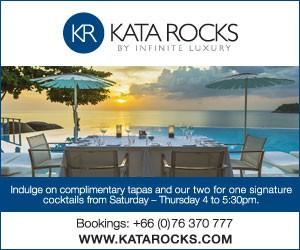 Kata Rocks Oceanfront Restaurant