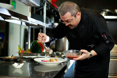 About the Chefs