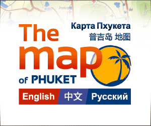 The Map of Phuket